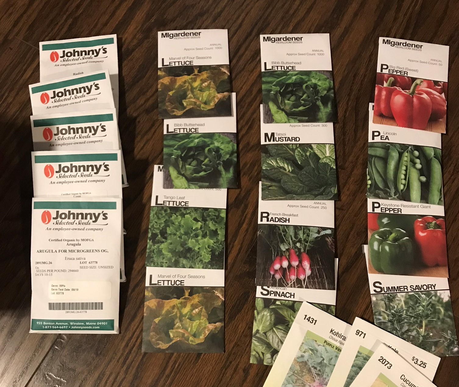 Starting Vegetable Seeds Indoors